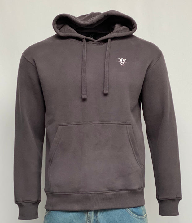 Hooded Pullover Dark Grey
