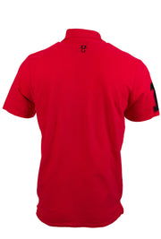 Mens Polo Shirt Ummah Red