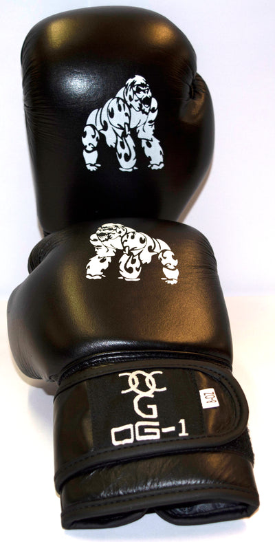 Pro Leather Boxing Gloves 8 oz
