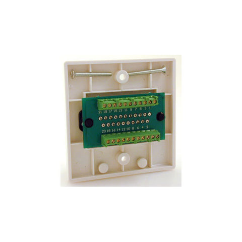 Scart With Quick Connect Terminal Wallplate