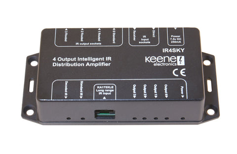 Keene Intelligent IR Distribution System For Multiple SkyHD Receivers IR4SKY - k2audio