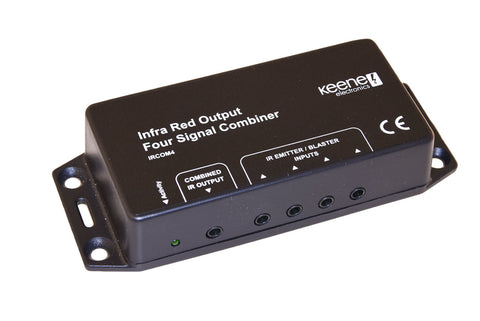Keene IR Signal Combiner Four IR Input to One IR Output IRCOM4 - k2audio