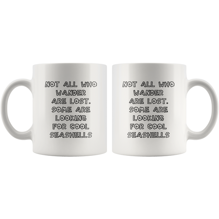 Seashell Collector mug 3 - Gift for seashell collector