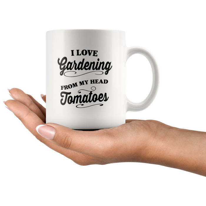 Garden Mug (11oz) – Garden Coffee Mug – I love Gardening Mugs – Gardening Mug – Gardener Mug Gift– Perfect Gift For Any Master Gardener