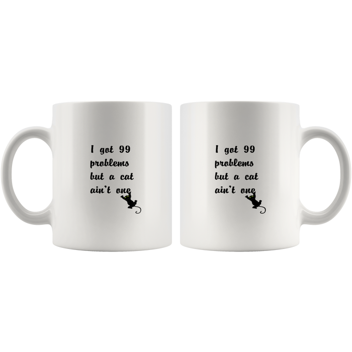 Cat Lover Gift Mug – Fun Cat Lady Coffee Mug – Cheeky Cat Mom Mug & Great Cat Mugs Gifts