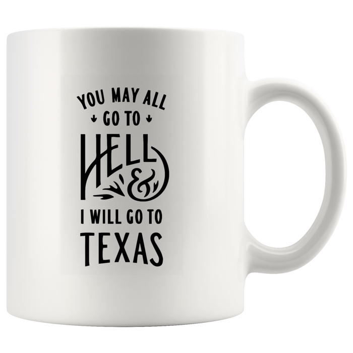 Texas Mug (11oz) – Texas Coffee Mug – Texas State Mug – Funny Texas Mug – Fun Texas Gift – Original Texas Mugs