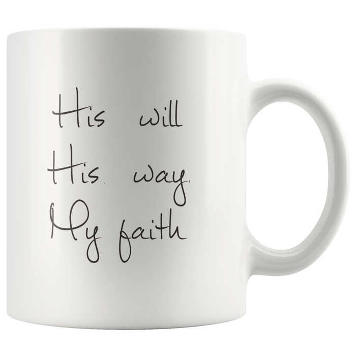 11oz Ceramic Christian Mugs – Inspirational Christian Coffee Mugs – Religious Mugs with Scripture and Christian Quotes – Bible Verse