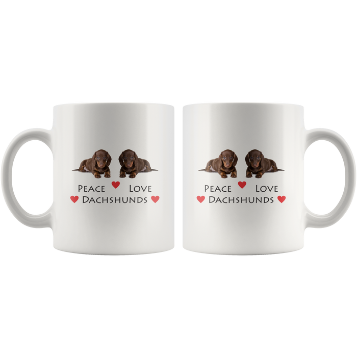 Funny Dachshund Mug 11oz Ceramic – Dachshund Gifts – Cool Dachshund Gifts for Women & Men – Dachshunds Gifts - Dachshund Gift Ideas