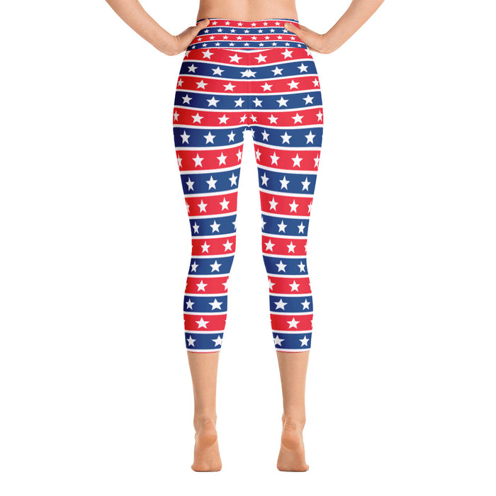 Limited Offer July 4 Yoga Capri Leggings