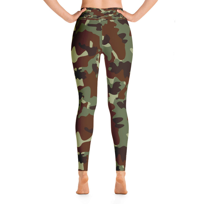 Classic Military Camo Yoga Leggings
