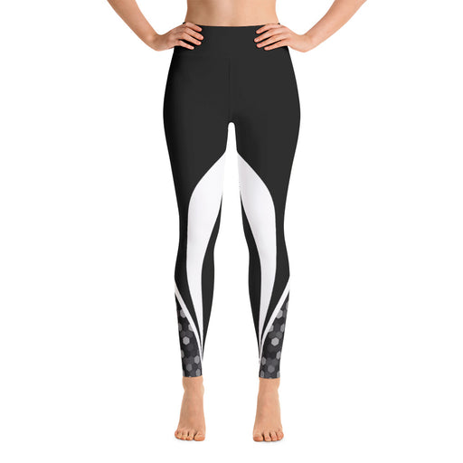 Classic Black and White Yoga Leggings