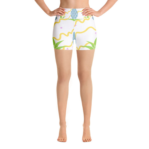 Cute Pineapple Yoga Shorts