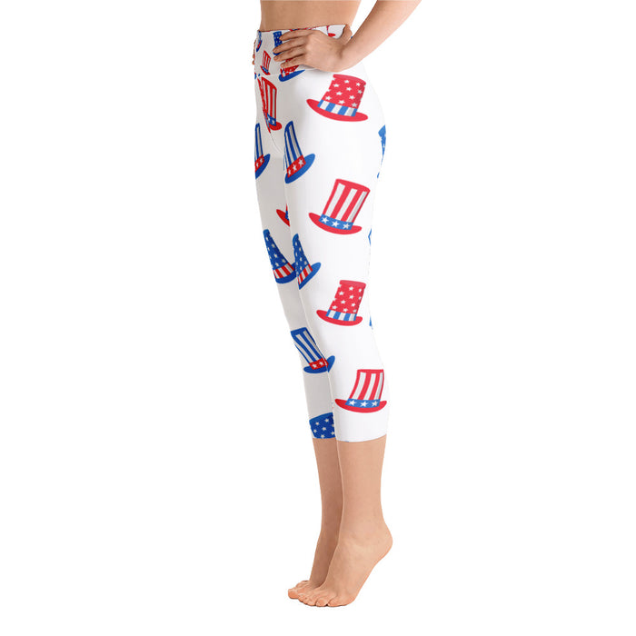 Limited Edition July 4th Yoga Capri Leggings