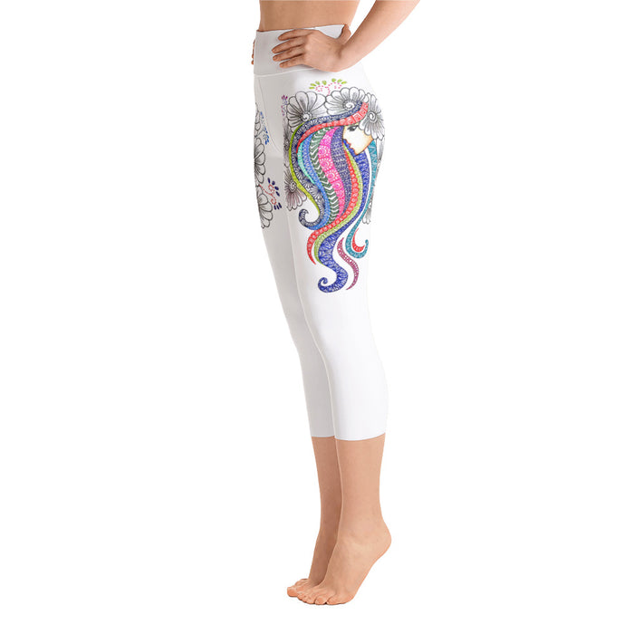 Mandala Art Yoga Leggings - Original Design by Meli