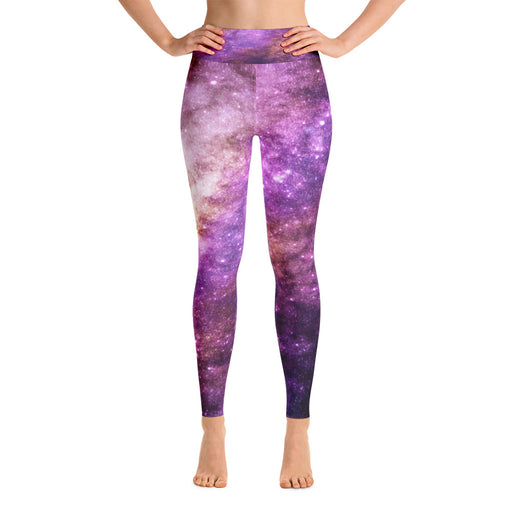 Space Theme Yoga Leggings (Design 8)