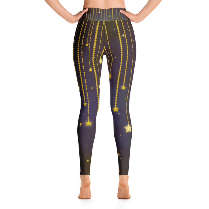 Falling Stars Yoga Leggings