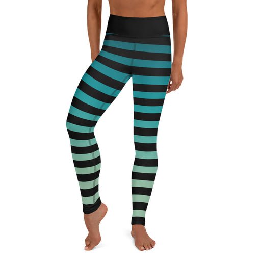 Super Cute Stripe Yoga Leggings
