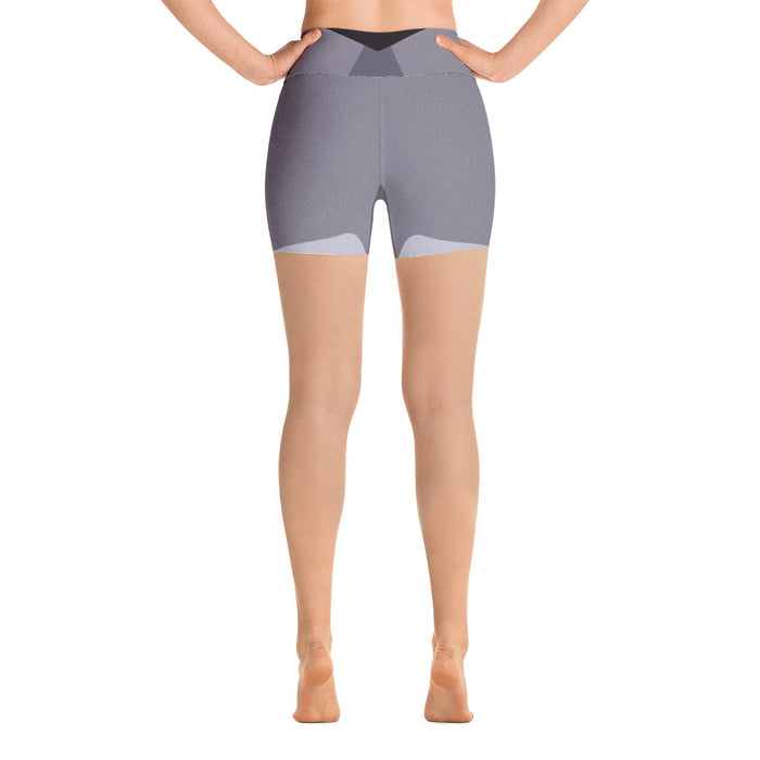 Subtle Grey Yoga Shorts