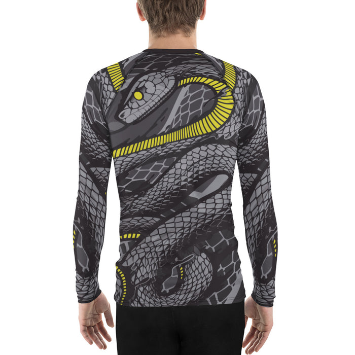 Cool Snake Jui Jitsu Rashguard for Men – Gi Rashguard for MMA, Judo and More – Made in US BJJ Rashguard for Men