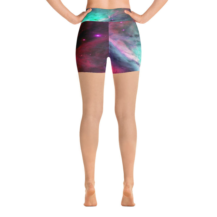 Cute Space Yoga Shorts