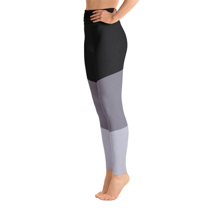 3 Color Black Grey and light Grey Yoga Leggings