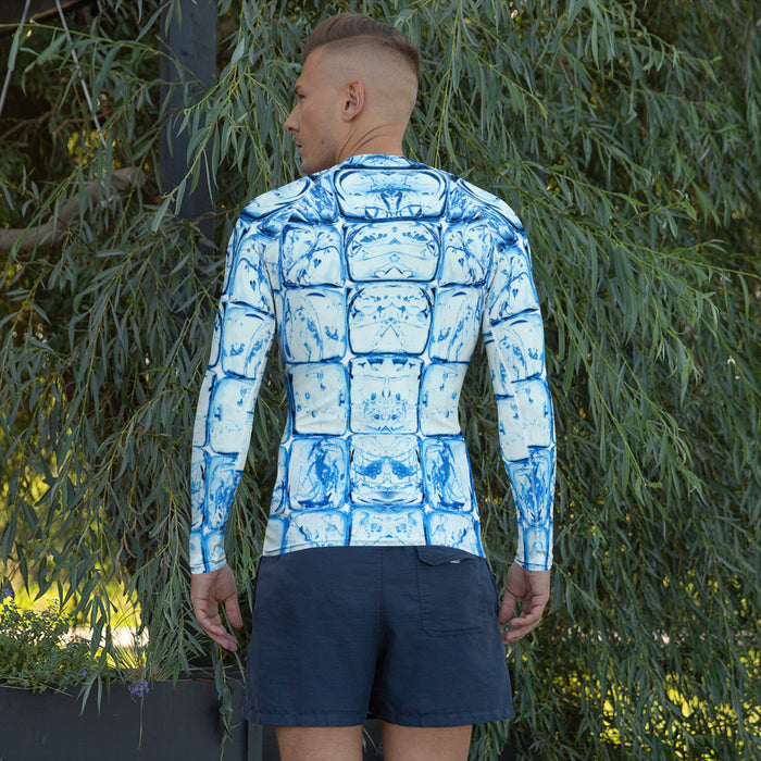 Cool Ice Cubes Rash Guard - Custom Men's Rash Guard (for BJJ and More)