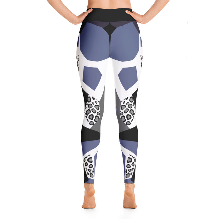 Cool Neo Leopard Pattern Yoga Leggings