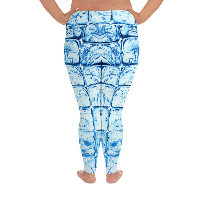Cool Ice Cube Plus Size Yoga Leggings (up to 6XL ) - Cool XL Leggings - Women's Plus Sized Yoga Leggings – Plus Size Workout Pants – Plus Sized Gym Leggings