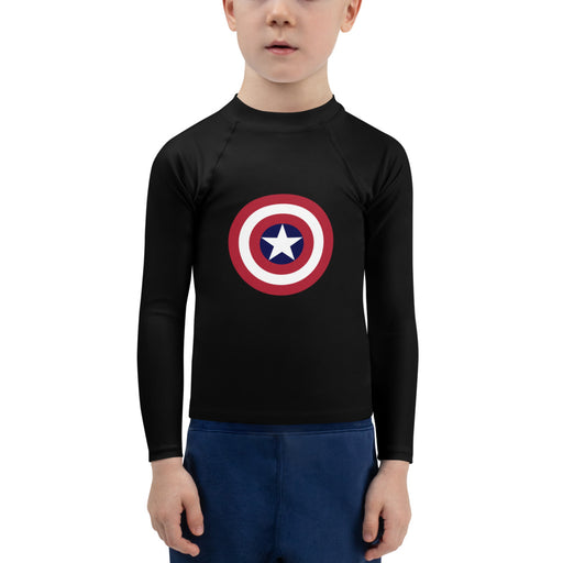 Super Hero kids jiu jitsu rash guard - jiu jitsu rash guard kids - kids rash guard boys bjj - kids bjj rash guard - kids rash guard bjj