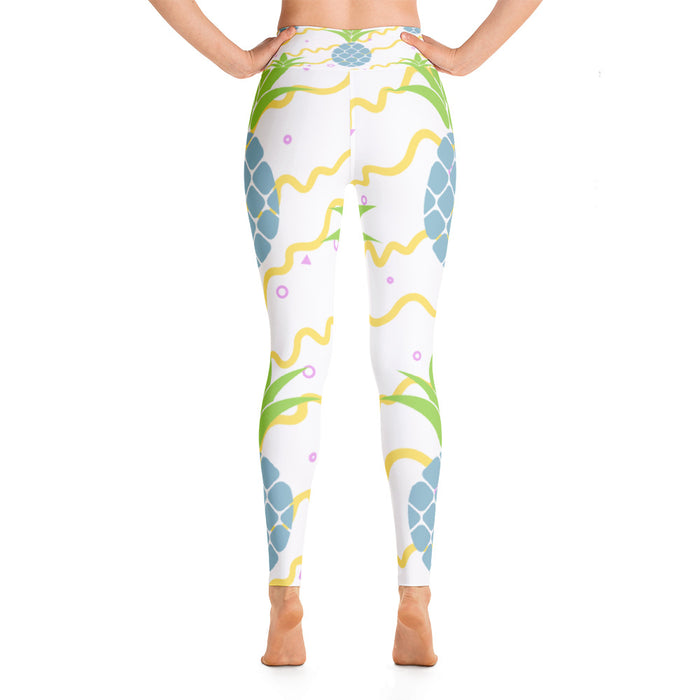 Cute Pineapple Yoga Leggings
