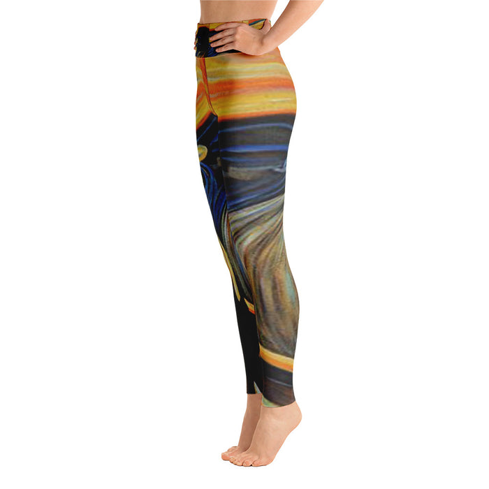 The Scream Yoga Leggins