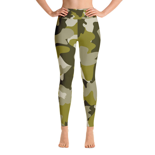 Cute Military Camo Yoga Leggings