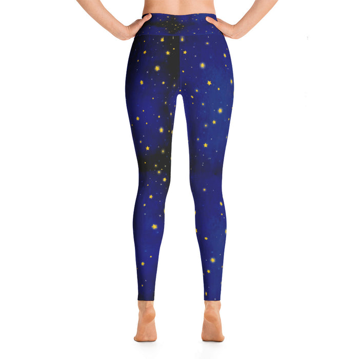Beautiful Night Sky Yoga Leggings