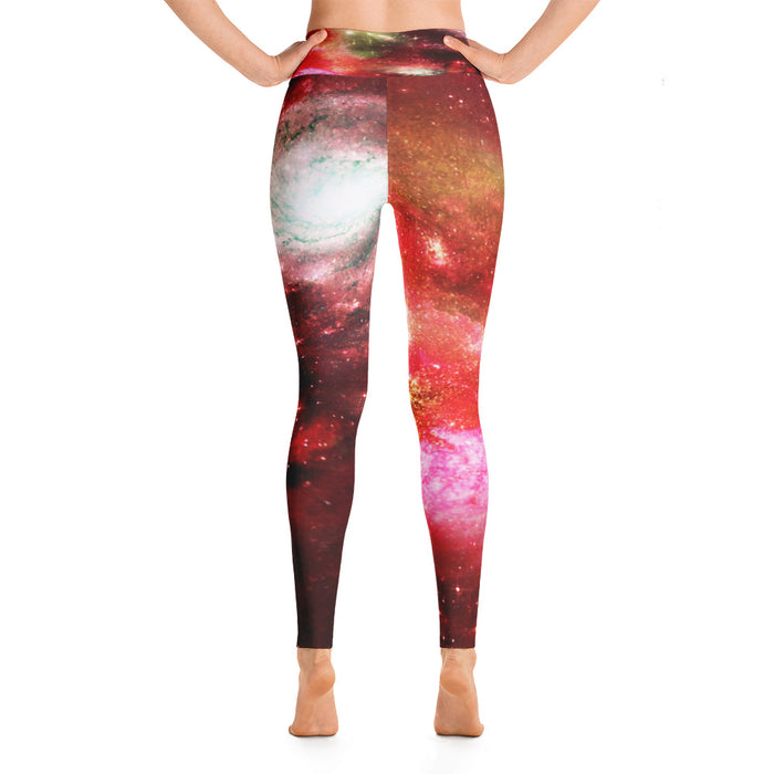 Cute Space Pattern Yoga Leggings (Design 12)