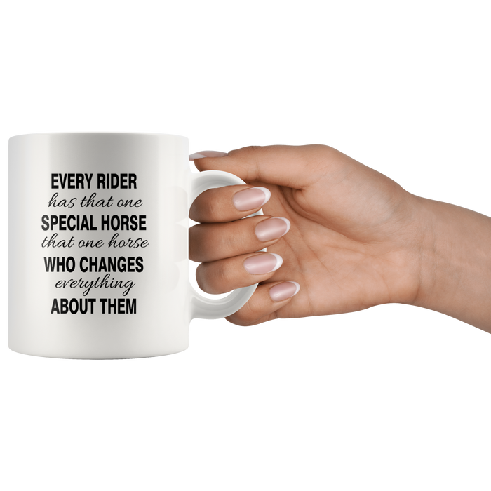 Fun Horse Coffee Mug (11oz) – Horse Gifts for Women, Men & Girls – Cool Horse Mug – Unique Horse Related Gifts – Horse Themed Gifts