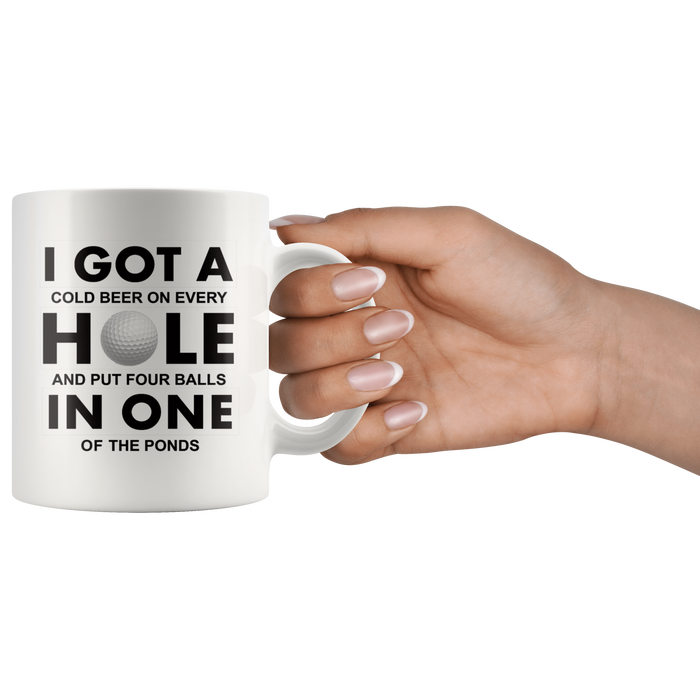 Golf Mugs (11oz) – Golf Coffee Mug – Golf Mugs – Golf Mugs for Women and Men – Funny Golf Mug – Fun Golf – Golf Gift – Funny Golf Gift