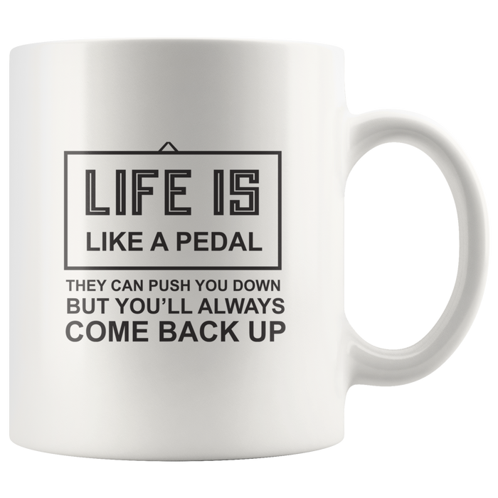 Cyclist Mug (11 oz) – Ceramic Cyclist Coffee Mug With Fun Quote – Perfect Cyclist Gift & Gift for Cyclist (Men & Women) - Bicycle Gifts