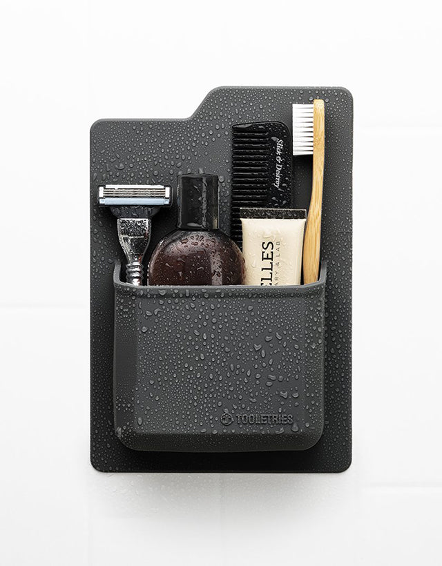 Tooletries - The James, Toiletry Organiser, Charcoal