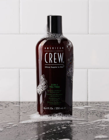 American Crew - 3-in-1 Tea Tree, 250ml
