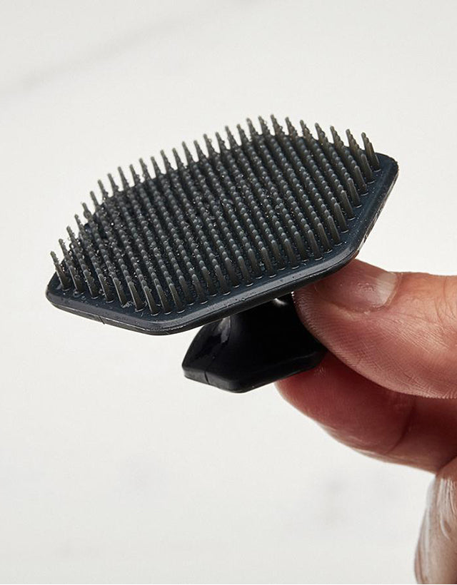 Tooletries - Face Scrubber & Holder, Gentle, Charcoal