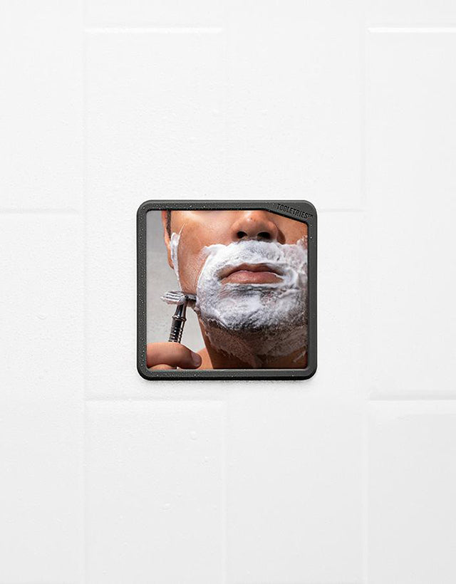 Tooletries - The Harry, Shaving Mirror, Charcoal