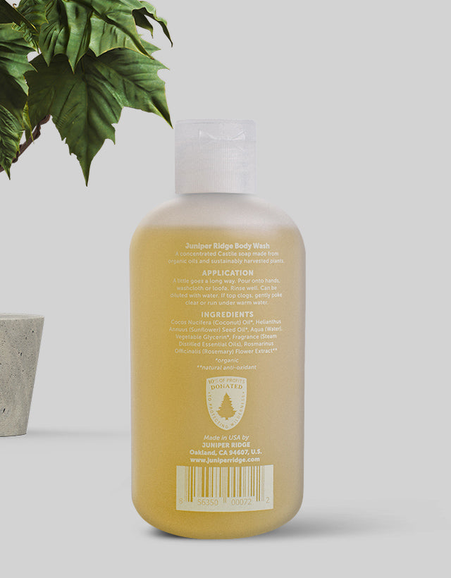 Juniper Ridge - Body Wash, Sierra Forest
