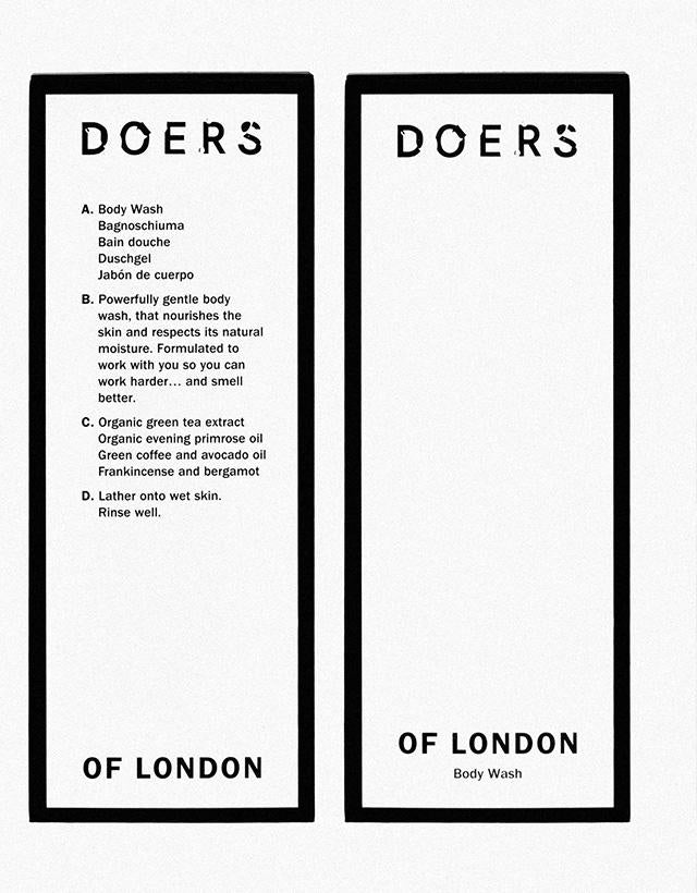 Doers of London - Body Wash, 300ml