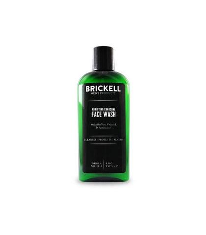 Brickell Men's Products - Purifying Charcoal Face Wash, 237ml
