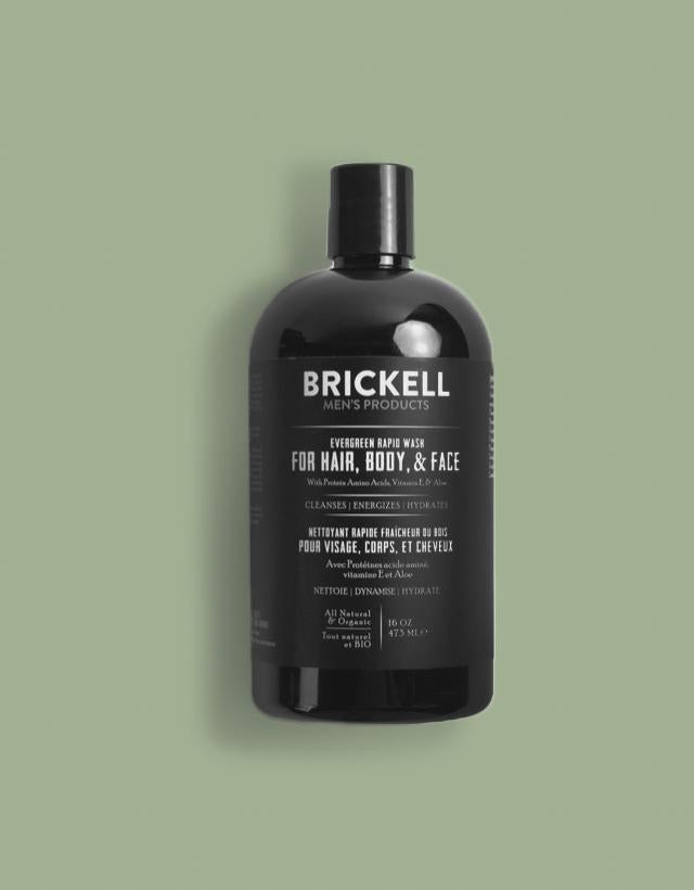 Brickell Men's Product - Rapid Wash Evergreen