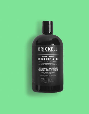 Brickell Men's Product - Rapid Wash Fresh Mint