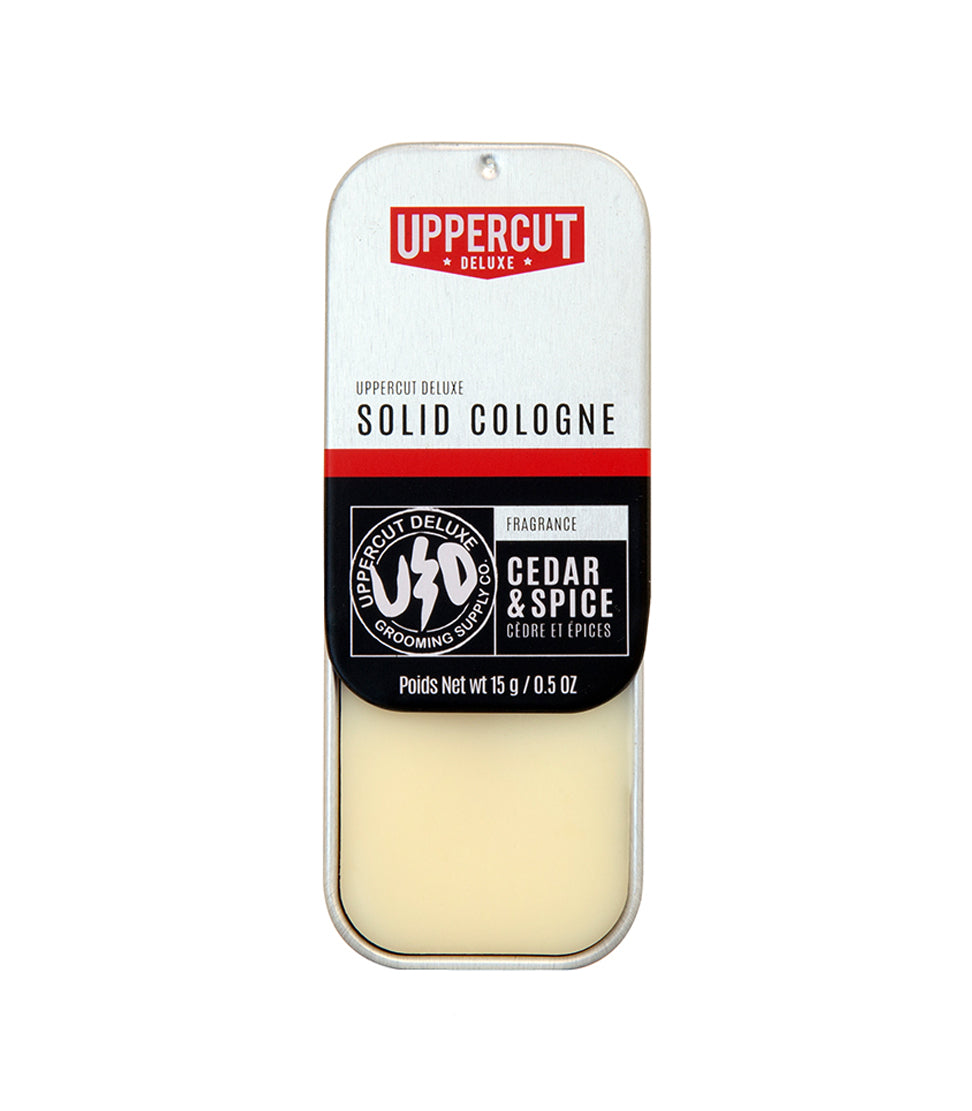 Uppercut Deluxe - Solid Cologne Cedar & Spice