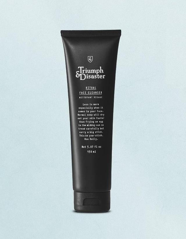 Triumph & Disaster - Face Cleanser, Face Scrub & Logic Toner Set