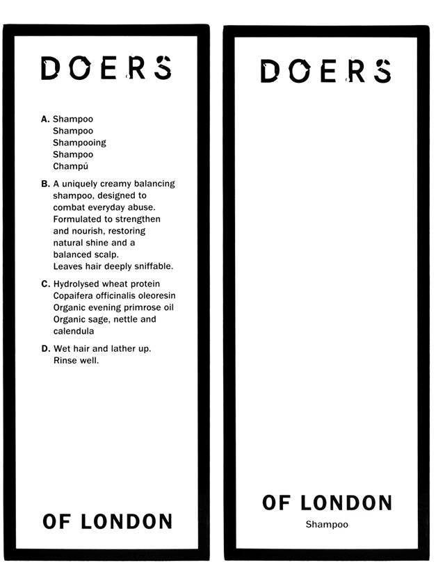 Doers of London - Shampoo, 300ml