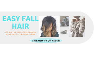 Easy Fall Hair Extensions